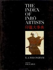 Cover of: The index of inrō artists =