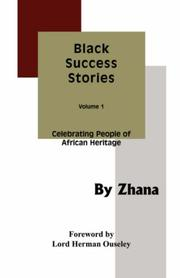 Cover of: Black Success Stories Volume 1