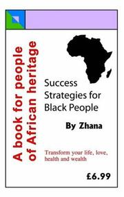 Cover of: Success Strategies for Black People