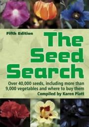 Cover of: The Seed Search (Gardening)