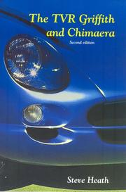 Cover of: TVR Griffith and Chimaera