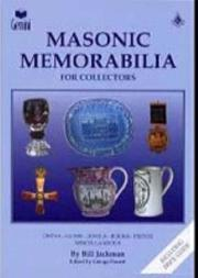 Cover of: Masonic Memorabilia for Collectors | Bill Jackman