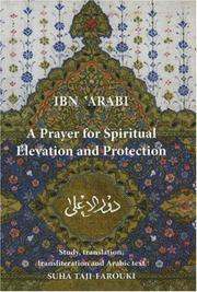 Cover of: A Prayer for Spiritual Elevation and Protection