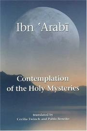 Cover of: Contemplation of the Holy Mysteries