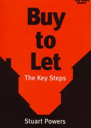 Cover of: Buy to Let the Key Steps