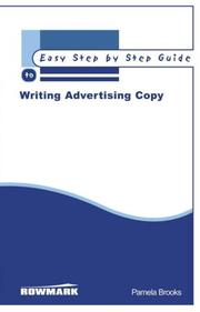 Cover of: The Easy Step by Step Guide to Writing Advertising Copy