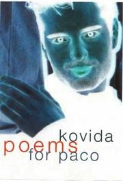Cover of: Poems for Paco