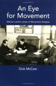 Cover of: An Eye for Movement | Dick Mccaw
