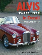 Cover of: Alvis Three Litre In Detail