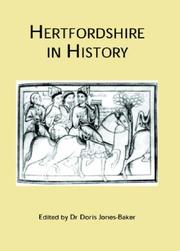 Cover of: Hertfordshire in History | Doris Jones-Baker