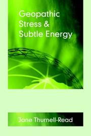 Cover of: Geopathic Stress & Subtle Energy