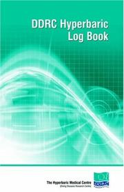 Cover of: Ddrc Hyperbaric Logbook