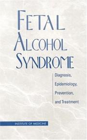 Cover of: Fetal alcohol syndrome