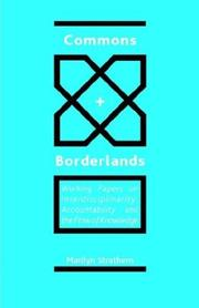 Cover of: Commons and Borderlands