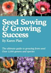Cover of: Seed Sowing and Growing Success