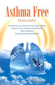 Cover of: Asthma Free Naturally | Patrick McKeown