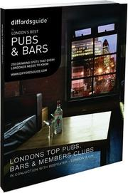 Cover of: Diffordsguide to London's Best Pubs and Bars