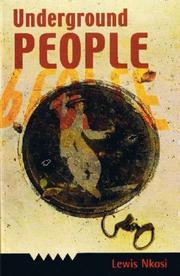 Cover of: Underground people