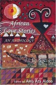 Cover of: African Love Stories