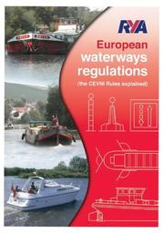 Cover of: RYA European Waterways Regulations