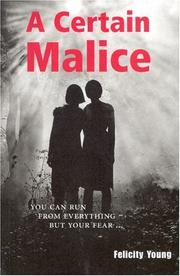 Cover of: A Certain Malice
