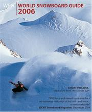 Cover of: World Snowboard Guide 2006