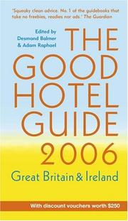 Cover of: Good Hotel Guide