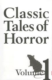 Cover of: Classic Tales of Horror (Bloody Books S.) (Classic Tales of Horror)
