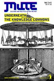 Cover of: Underneath the Knowledge Commons