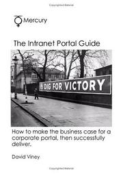 Cover of: The Intranet Portal Guide (How to Make the Business Case)