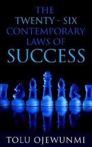 Cover of: The 26 Contemporary Laws of Success