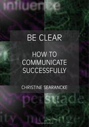 Cover of: Be Clear