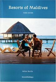Cover of: Resorts of Maldives (Guidebook Format)