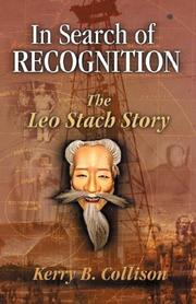 Cover of: In Search of Recogniton - The Leo Stach Story