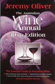 Cover of: Jeremy Oliver's Australian Wine Annual
