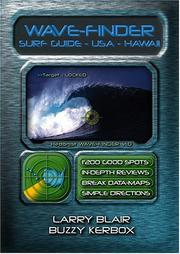 Cover of: Wave-finder Surf Guide - USA Hawaii