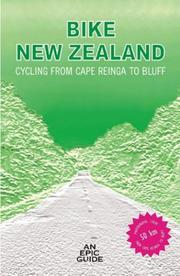Cover of: Bike New Zealand