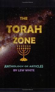 Cover of: Torah Zone