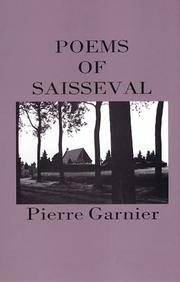 Cover of: Poems of Saisseval