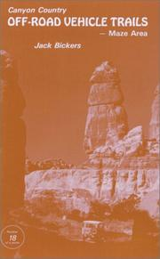 Cover of: Canyon Country Off-Road Vehicle Trails, Maze Area (Number 18 in the Canyon Country Series) (Canyon Country)