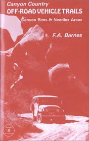 Cover of: Canyon Country Off-Road Vehicle Trails | F. A. Barnes