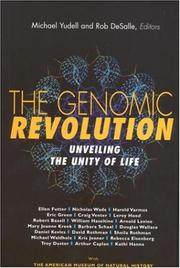 Cover of: The Genomic Revolution |