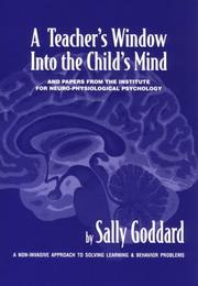 Cover of: A teacher's window into the child's mind