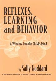Cover of: Reflexes, learning and behavior