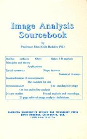 Cover of: Image analysis sourcebook
