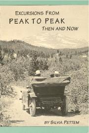 Cover of: Excursions from Peak to Peak then and now