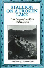 Cover of: Stallion on a frozen lake | 6th Dalai Lama