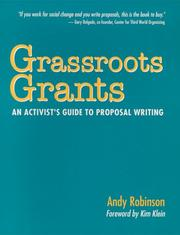 Cover of: Grassroots grants | Andy Robinson