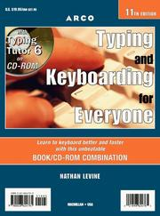 Cover of: Typing and keyboarding for everyone with Typing tutor 6