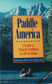 Paddle America by Nick Shears